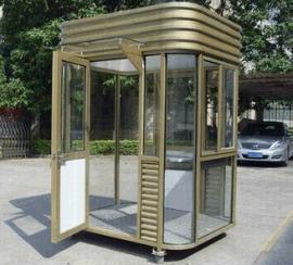 弘顺专业生产销售不锈钢岗亭,欢迎您的订购!