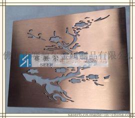 古铜不锈钢树雕花 装饰材料