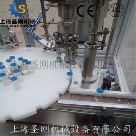 化工粉自动灌装包装机 兽药粉末粉剂半自动定量灌装机