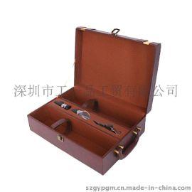 酒盒 红酒盒 双只红酒盒 皮盒 高档酒盒