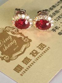 进口天然红蓝宝石|珠宝鉴定|高价珠宝抵押回收
