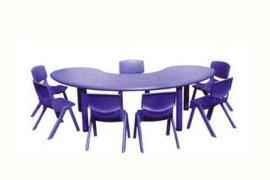 广西儿童塑料桌椅厂家
