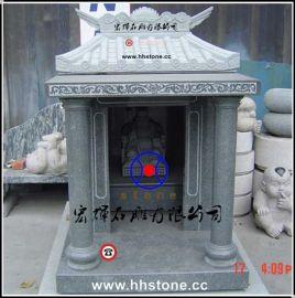 现货批发石雕财神庙/大理石伯公庙高1.2米