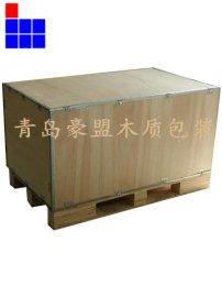 青岛免熏蒸包装箱厂家地址联系方式木箱价格低廉