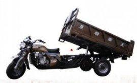 隆鑫液压翻斗带自卸顶三轮摩托车市场特价5800元