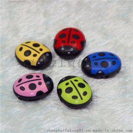 迷你创意 甲虫MP3音乐播放器插卡MP3 七星瓢虫MP3 盒装四件套