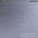 C60*R60棉粘色织条 蓝白条时装面料