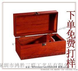 木质红酒盒 木质红酒礼品包装盒厂家