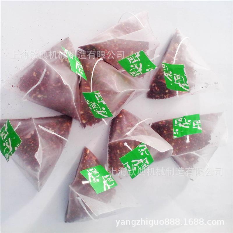 三袋角茶包袋泡茶包设备包角袋全自动茶叶包装机 三袋角包装机械