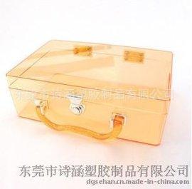 【**价廉】 6449# 中号 透明手提盒 通用包装塑料展示盒