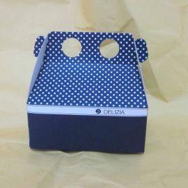供应礼品盒 纸盒包装盒 厂家专业订制面包手提盒 牛皮瓦楞手提盒 汉堡食品提盒