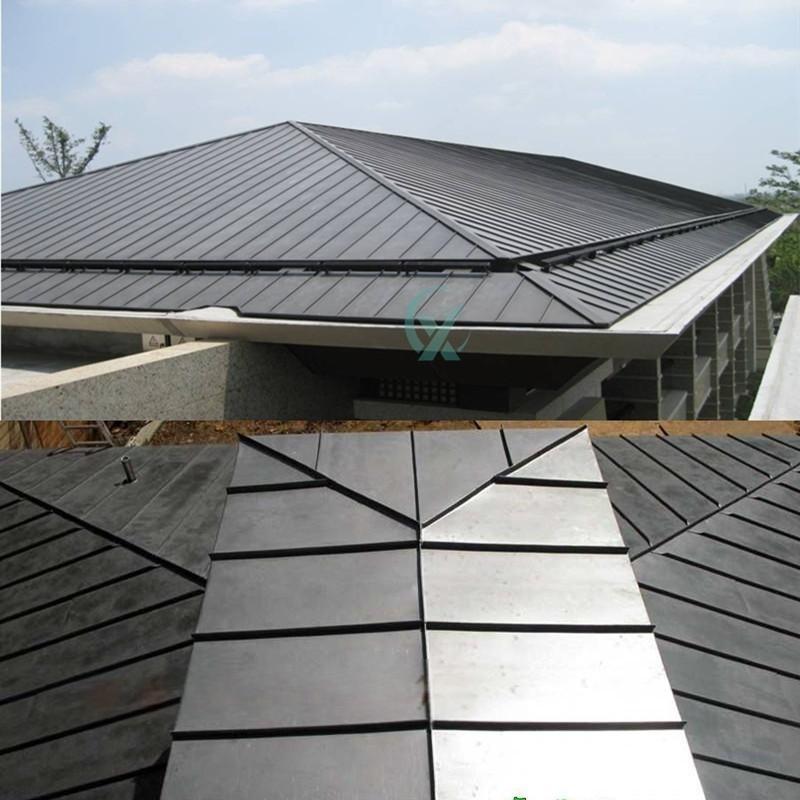 黑色鈦鋅板生產廠家 直立鎖邊鈦鋅板 平鎖扣板