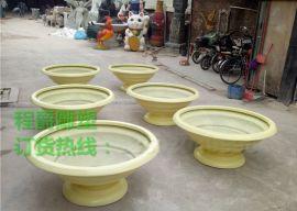 广州厂家现货热销玻璃钢花盆 梯形花盆
