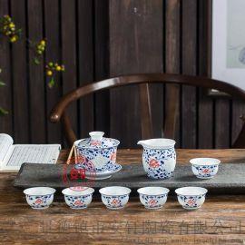 景德镇手绘茶具哪里卖?