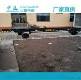 上海双向牵引平板拖车 10T厂区内使用板车