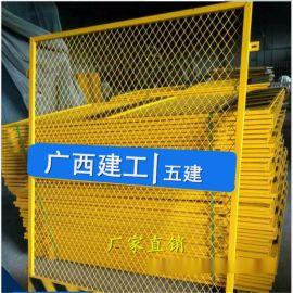 广西施工电梯防护栏丨南宁建筑电梯安全门