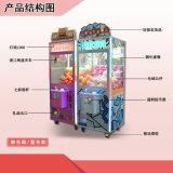 夾娃娃機價格娃娃機廠家直銷山展科技中國風娃娃機