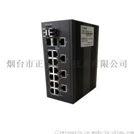正维通信千兆工业交换机WISE8000B系列