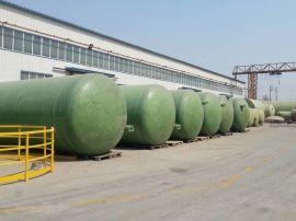 4立方玻璃钢化粪池 大型号一体化污水处理设备