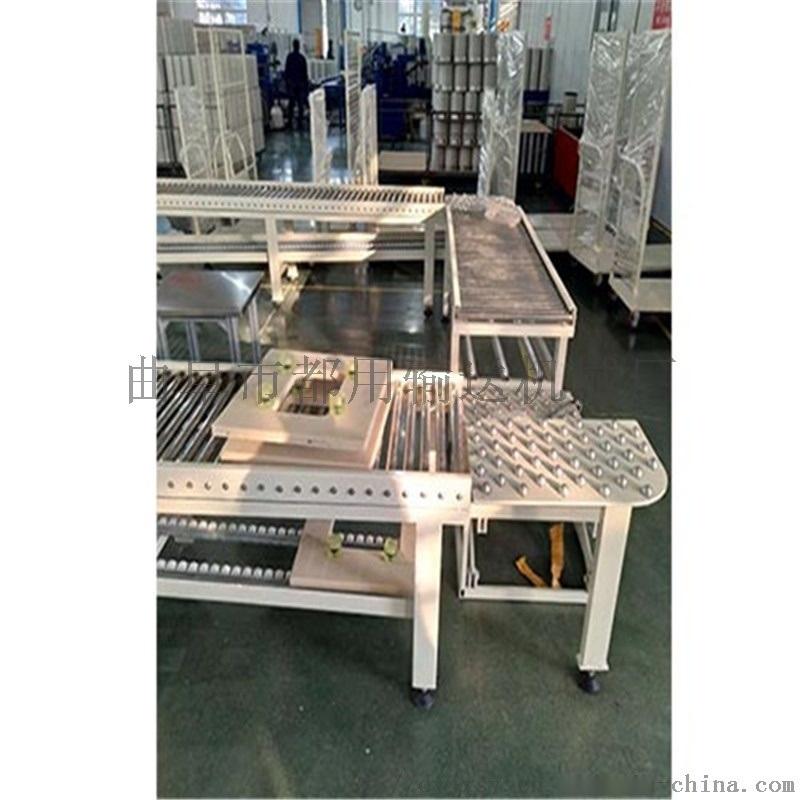 碳钢喷塑纸箱动力辊筒输送机 厂家定制滚筒QA1
