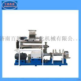 大型鲍鱼饲料生产线 水产饲膨化机 鲍鱼海参饲料加工设备 膨化机