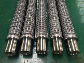 我厂专业生产波纹状过滤芯,圆柱形滤芯,不锈钢滤芯