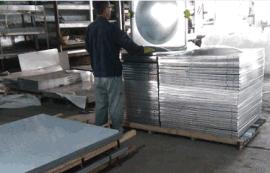 来料加工304不锈钢水箱冲压板
