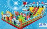 儿童充气滑梯生产厂家 充气城堡价格 充气蹦蹦床