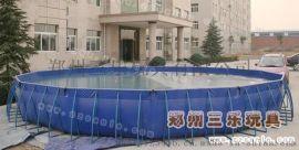 黑龙江绥化大型户外移动支架水池的好处