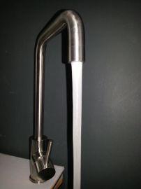 全不锈钢厨用节水水龙头