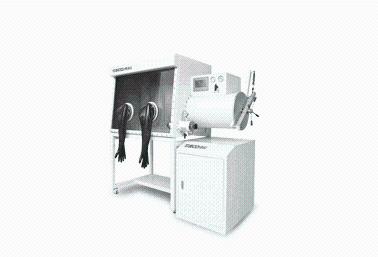 """高性能304型不锈钢真空手套箱 单人/双手套孔""""DECO-VGB-304-2-F"""""""