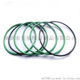 **o-ring 美标AS568系列 VITON绿色氟橡胶O形圈耐醋耐酸密封圈尺寸7.52*3.53MM 表面可以喷铁弗龙