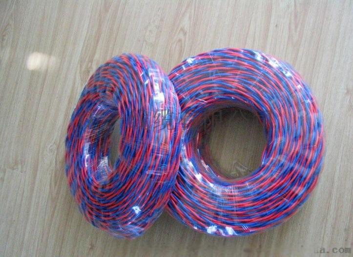 铜芯聚氯乙烯绝缘绞型连接用软电线、对绞多股软线RVS2*1