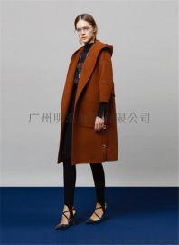 女裝品牌折扣歐美潮牌雙面羊絨大衣進貨渠道 推薦廣州明浩