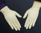 一次性乳胶手套 工业使用乳胶手套 橡胶手套