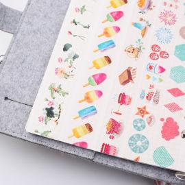 来图定制小清新夏日风、少女生活篇手帐素材和纸胶带