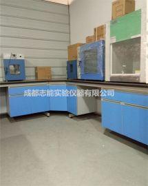 实验台通风柜厂家 德阳实验台 成都钢木化验室操作台