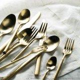 银貂德国名师设计不锈钢西餐刀叉三件套