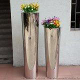不鏽鋼圓錐花瓶 金屬工藝品