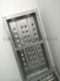 青海建筑钢跳板/青海镀锌钢跳板厂家/脚手架踏板