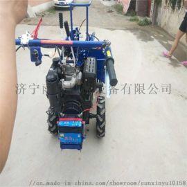 小型玉米收割机 扒皮秸秆粉碎带四轮拖拉机机头