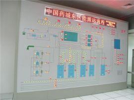 马赛克**模拟屏 上海至仁动态模拟屏 生产模拟屏