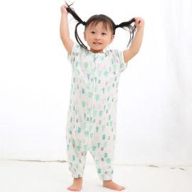 婴幼儿睡袋 4层纱布睡袋 宝宝夏季连体衣