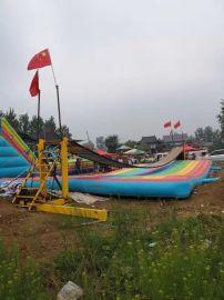 贵州毕节网红桥定做彩色充气垫子工厂直销