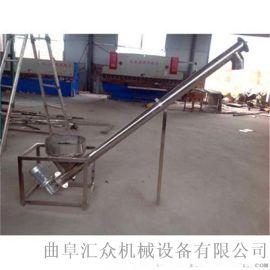管式螺旋输送机型号大提升量 定制304不锈钢螺旋提升机