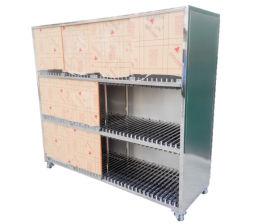 专业生产smt钢网架防静电三层印刷钢网放置架