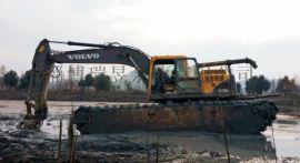 装在挖机上的清淤泵-液压抽泥泵-泥浆泵