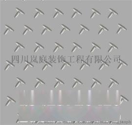 唐山菱形花纹防滑板标准厚度 花纹钢板价格