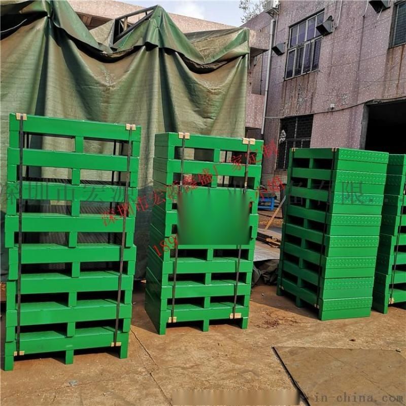 鋼製倉庫貨架鐵托盤 金屬叉車物流卡板