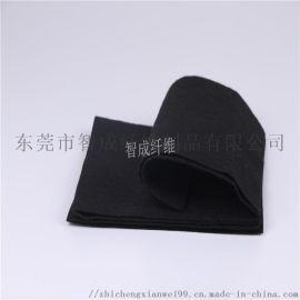 供应北京黑色阻燃针刺无纺布 高品质环保灰色针刺棉
